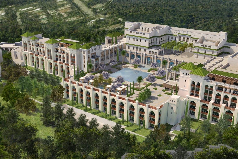 Tazi Palace Hotel. Tangier, Morocco