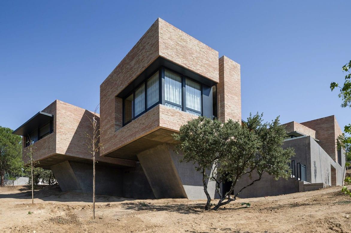 Single-family house in Molino de la Hoz, Las Rozas, Madrid. Spain