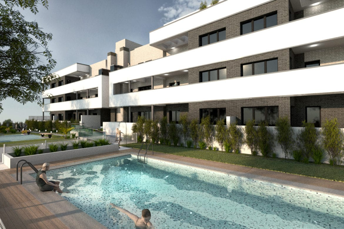 Thirty-four houses in Plot 3-1 in Arroyoespino. Colmenar Viejo, Madrid
