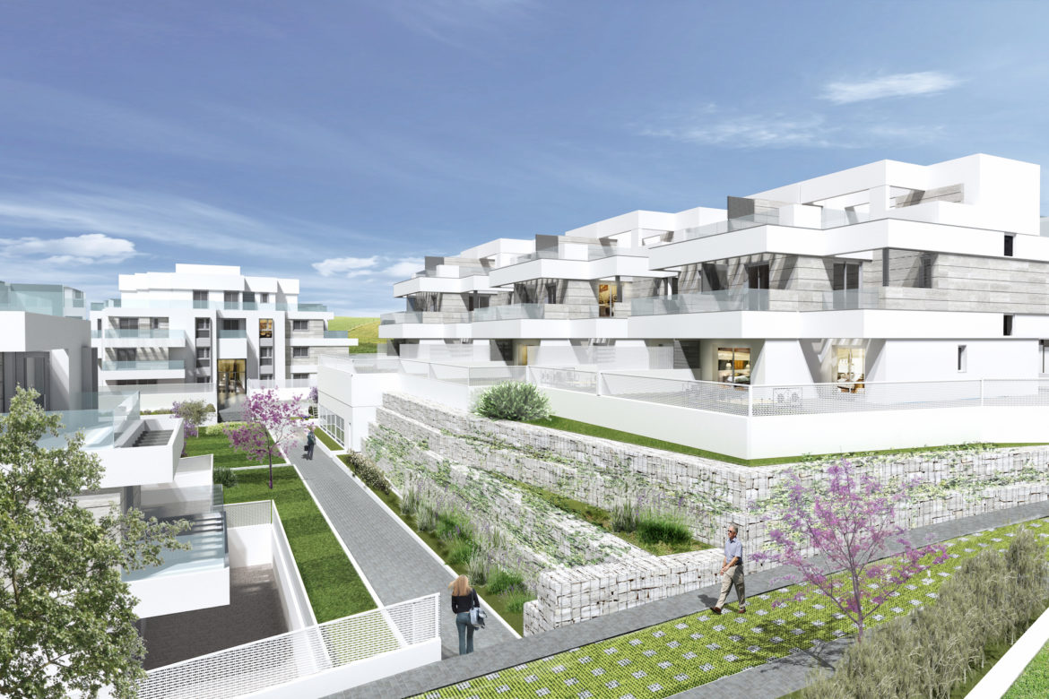 Forty-two non-subsidized houses, garages and swimming pool in APE 08.16 Arroyo del Fresno, Madrid