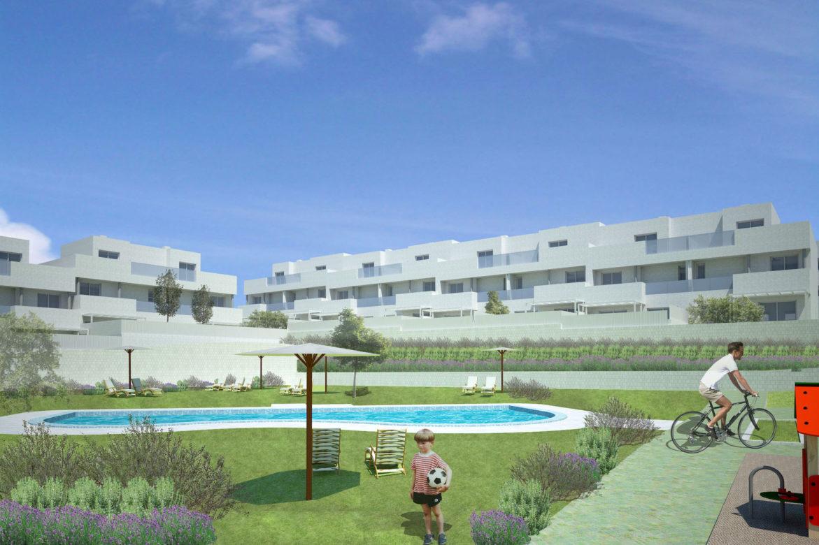 Cuarenta viviendas en Sector AR Nuevo Tres Cantos. Parcela RU-4