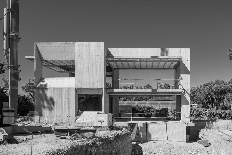 Estructura para una vivienda unifamiliar. San Sebastián de los Reyes